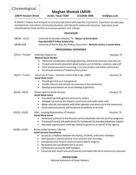 Hospice Social Worker Sle Resume by Hospice Social Worker Resume For Free Page 5 Formtemplate