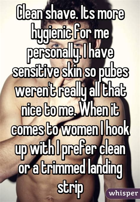 shave sissy with landing strip clean shave its more hygienic for me personally i have