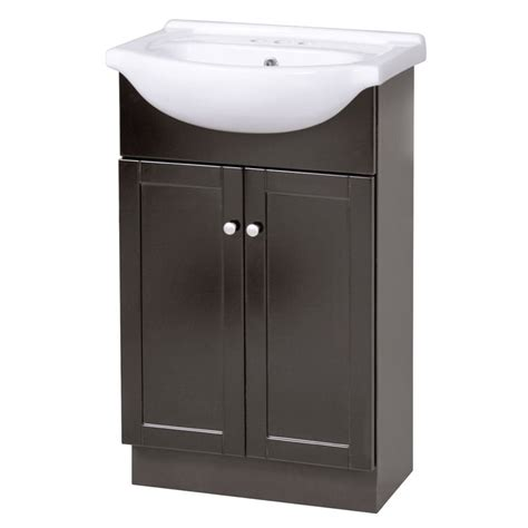 22 inch bathroom vanities columbia 22 inch espresso euro bath vanity with vitreous