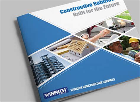 design house company profile winrich constructions company profile design designzhub