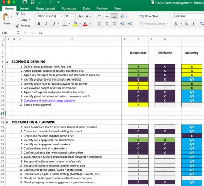 Your Event Management Plan Download The Free Excel Template Eventbrite Australia Blog Event Management Plan Template Excel