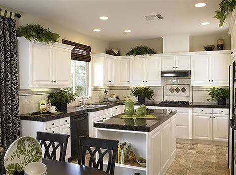 greenery above kitchen cabinets above cabinets add a few artificial ivy plants plus the