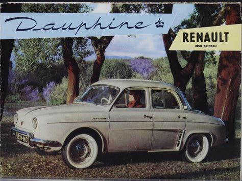 1960 renault dauphine 1960 renault dauphine information and photos momentcar