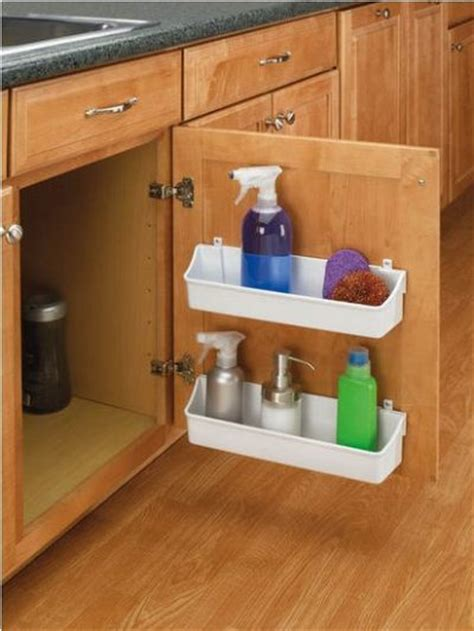 11 Clever And Easy Kitchen Organization Ideas You Ll Love Kitchen Cabinet Door Storage Racks