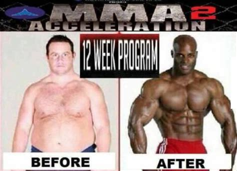 Buff Guy Meme - in just 12 weeks you can go from a fat white guy to a