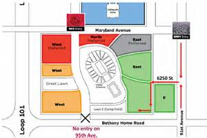 University Of Phoenix Stadium Parking Map by Parking Pass Blu Lot Dallas Cowboys Arizona Cardinals