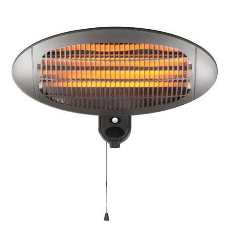Patio Wall Heaters 2kw Quartz Wall Mounted Outdoor Electric Garden Patio Heater 163 24 99 Oypla The