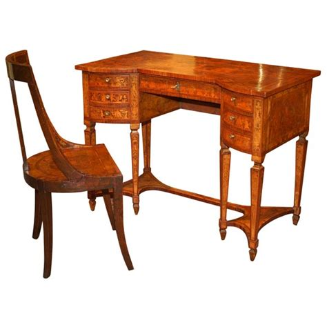 ori furniture cost marquetry desk and chair for sale antiques com classifieds