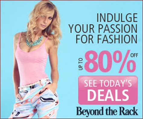 Beyond The Rack Canada by Canadian Daily Deals Beyond The Rack Save Up To 80 Designer Brand Fashion 5 Shipping