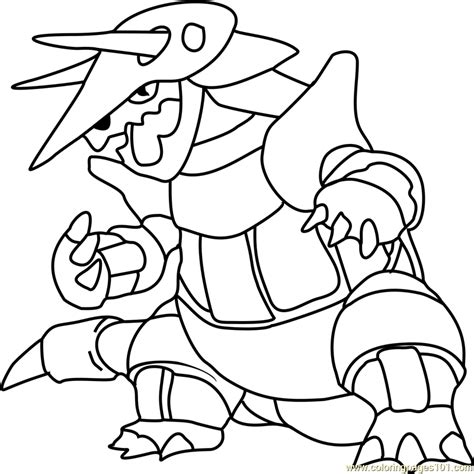pokemon coloring pages golurk aggron images pokemon images