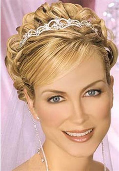 Wedding Hairstyles Updos With Tiara by Wedding Updos For Hair With Tiara Di Candia Fashion