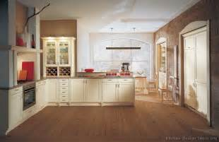 White Kitchen Cabinets With Brown Walls Pictures Of Kitchens Traditional White Antique Kitchen Cabinets