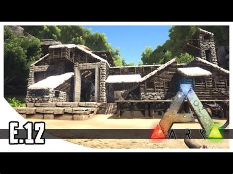 house designs construction plans the ark download video ark survival evolved t rex garage ep 12