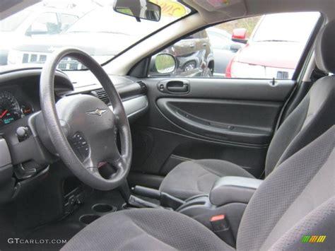 2006 Chrysler Sebring Interior by Slate Gray Interior 2006 Chrysler Sebring Touring
