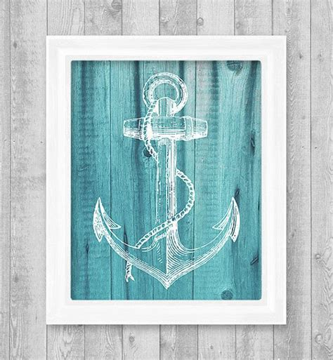 Badezimmer Deko Nordsee by Anchor Digital Printable Wall Print 8 Quot X10 Quot Jpeg File