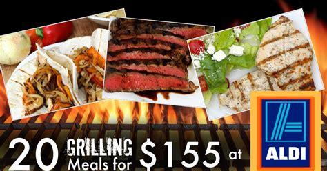 summer grilling menu ideas 20 grill recipes from aldi