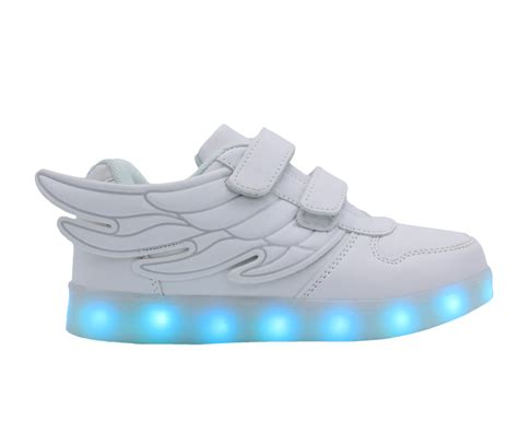 galaxy led shoes light up usb charging low top wings sneakers white galaxy led shoes