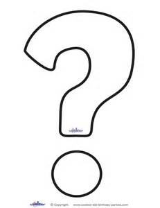 coloring page question printable question clipart best
