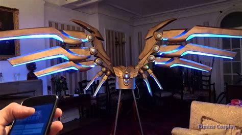 Robot Aether Free Batre my motorized aether wing kayle elminscosplay