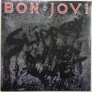 Sweater Bon Jovi High Quality Lp bon jovi slippery when vinyl lp album at discogs