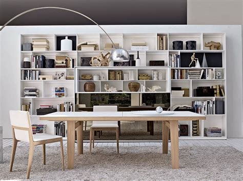 libreria b b open sectional bookcase flat c by b b italia design