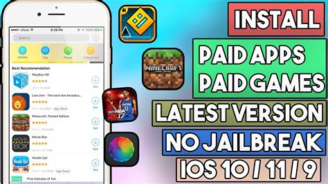 i mod game no jailbreak new update how to install paid apps paid games free no