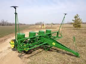 deere 494a 4 row planter corn soybean substainable