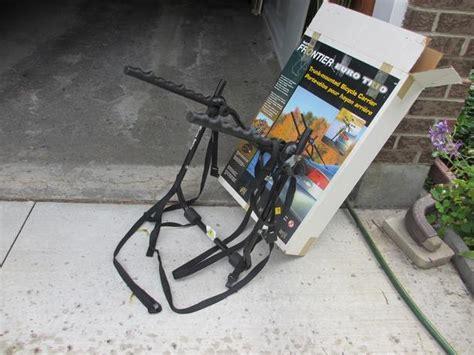 sportrack euro trio  bike trunk mount bike rack orleans ottawa