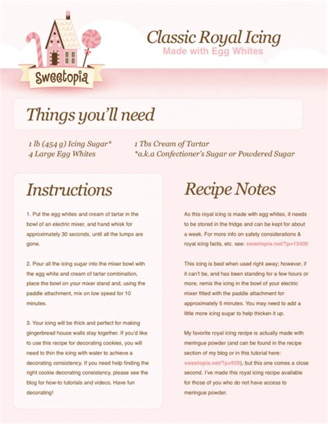 printable cing recipes royal icing for gingerbread houses how to video a