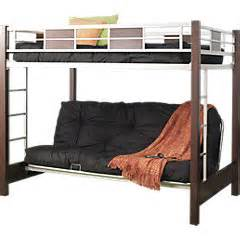 size bunk bed with futon on bottom bm furnititure