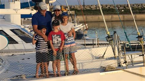 living on a boat au never a dull moment the family living on a boat in the