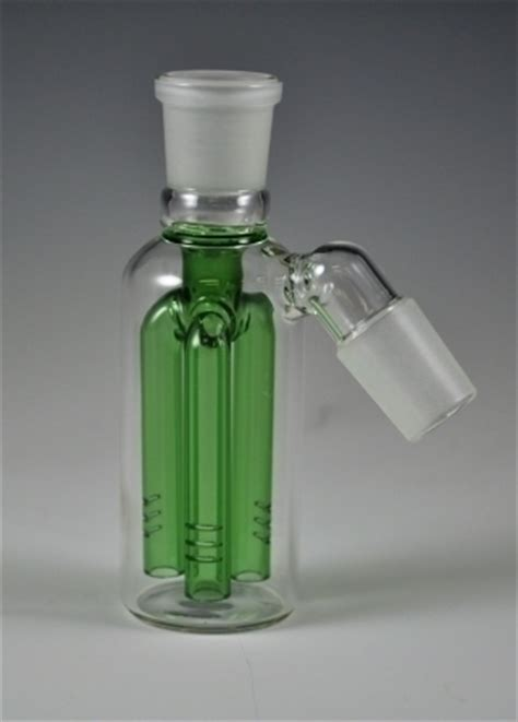 Pipe Up Bum Detox by Sb1431 Tree Perk Ash Catcher 18mm Glass Slider Bowls