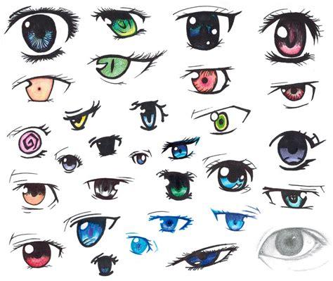 anime eyes boy and girl anime eye collage by diamondbubble on deviantart