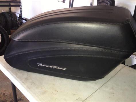 Handmade Saddlebags - road king custom leather saddlebags brand new stock