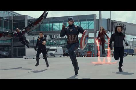 Hoodie Team Stark Civil War 2016 April Merch 1 captain america civil war new trailer we see
