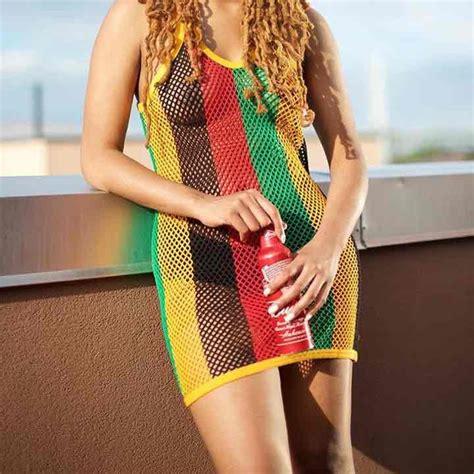 jamaican colored bathing suit rasta mesh dress 50 mercari anyone can buy sell
