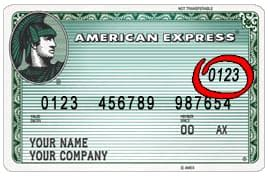 Amex Gift Card Cvv Code - security codes