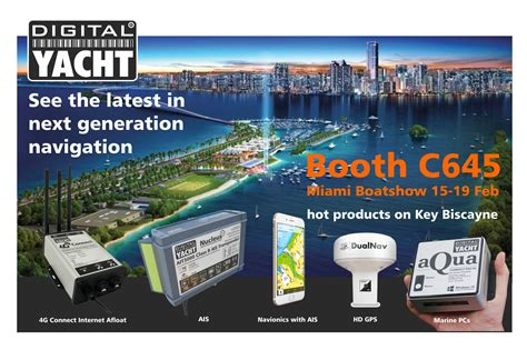 miami boat show february 2018 digital yacht at miami boatshow february 15 19 2018