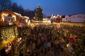deutsch amerikanischer weihnachtsmarkt der westernstadt pullman die lebende
