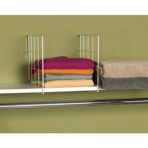household essentials wire shelf divider white walmart