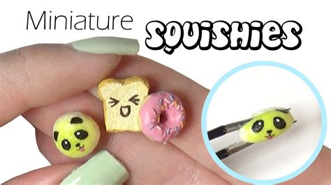 squishy squooshems easy miniature squishy tutorial mini squishies