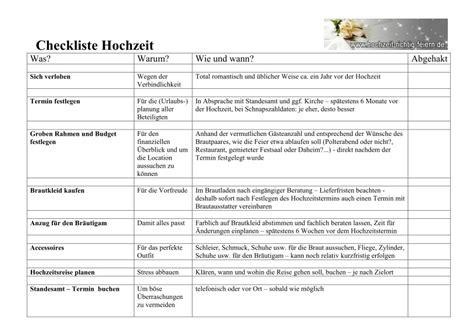 Checkliste Hochzeit by Checkliste Hochzeit
