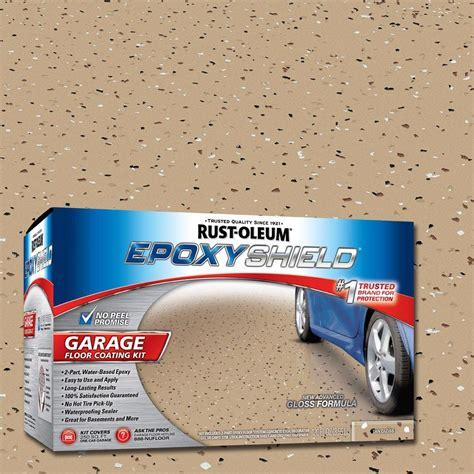 Rust Oleum EpoxyShield 1 gal. Tan Garage Floor Epoxy (Case