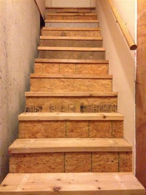 maximum stringer width on basement stairs doityourself
