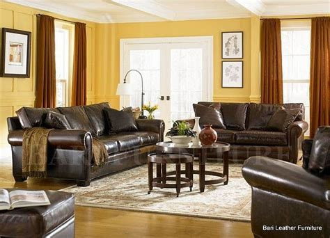 brown and yellow living room brown leather living room yellow and decor ideas brown leather room ideas