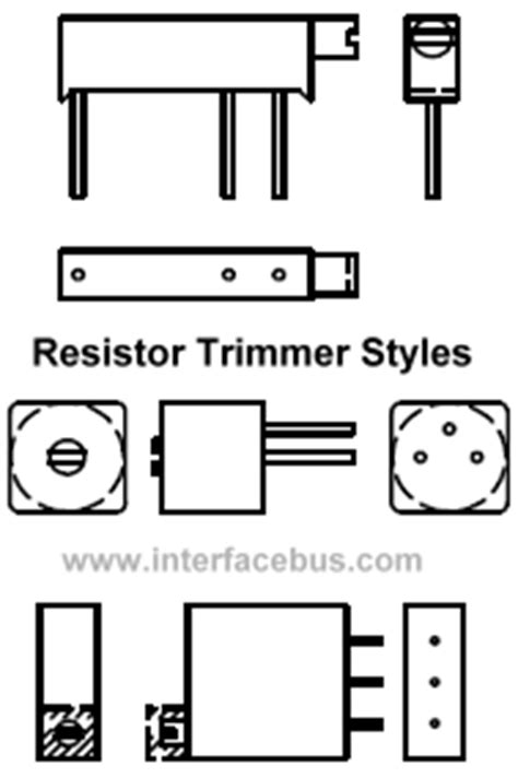 trimmer resistor symbol dictionary of electronic and engineering terms dictionary letter tri