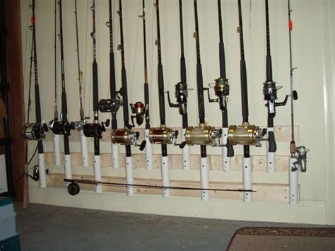 Fishing Rod Storage Garage by 25 Best Ideas About Fishing Rod Rack On Rod