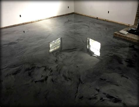 Grey White Amp Black Epoxy Garage Flooring Mycoffeepot Org