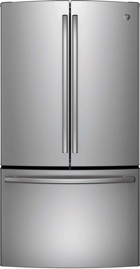 ge stainless steel door refrigerator ge appliances gne29gshss 28 5 cu ft door
