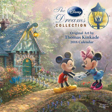 1449453562 thomas kinkade the disney dreams thomas kinkade the disney dreams collection 2018 mini